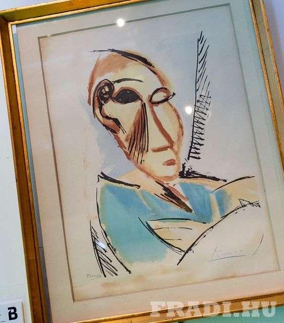 Picasso és Petőfi a Dalnoki-hagyatékban